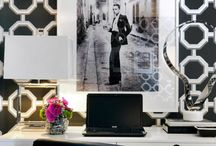 Chanel-inspired office / Inspirations for my new office