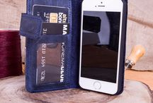 Magnetic Detachable Leather Wallet for iPhone