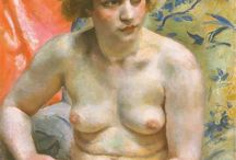 NUDE PAINTINGS (unknown artists)