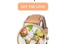 >> WORLD MAP << / ~ Inspired by the world around us ~ World map watches, murals, tattoos, bedrooms and more!