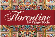 "Florentine 4 by Robert Kaufman / ""Florentine 4"" Collection by Peggy Toole for Robert Kaufman Fabrics"