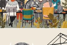 Art clever illustrations