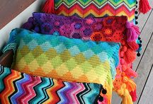 Crochet & Knit Cushions