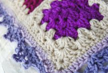 crochet edgings/ crochet: puntillas