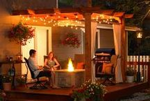 Patio ideas / by Mandy Hume Fessler