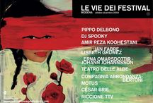 Illustratori per ERT / I disegni di grandi illustratori per il #teatro di #ERT a#Modena. #Poster for Theatre