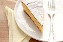 torta con farina di polenta ricotta e limone