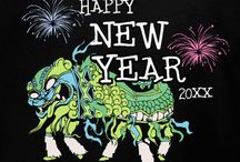 New Year's T-Shirt Ideas and Templates / New Year's T-Shirt Ideas and Templates for New Year's Eve and New Year's Day. Use our templates or create you own in our custom t-shirt design studio. We print and deliver within 10-days with free shipping in the U.S.
