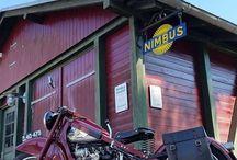 gamle motorcykler