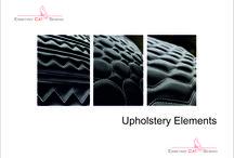 Quilted Surfaces / Wir  arbeiten  fuer  Sie in alle Richtungen  -  Anfertigung von  Panelen  bis  zu  3 x 3 m - auf Stoff  -  Leder   -   Kunstleder We work for you in all directions - manufacturing of panels up to 3 x 3 m - fabric - leather - suede