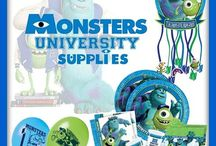 Monster University Party Supplies