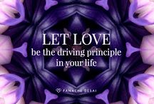 LET LOVE be the Driving Principle in Your Life! / All about Love in your life!  Love is the highest vibration and is experienced in Gratitude, Creation, Happiness, Joy, Compassion, Kindness, Peace, Harmony, Oneness, Angels, Hearts, Light, etc... This Group Board is created to uplift and inspire all who visit.  Enjoy and re-pin!