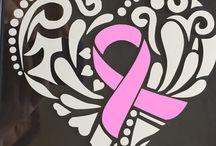 breast cancer window display