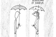 Caricaturas e ilustrações