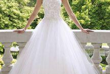 Wedding gowns / Stylish and elegant; feminine and lace