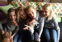 Kleinmeisjes 2016 / Mijn kleinmeisjes Britt-Anna-Helena-Jill