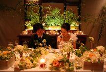 装花 春 2月~4月 wedding flower - spring - February to April / 春の会場装花 2月から4月