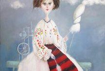 Paintings Iulia Schiopu