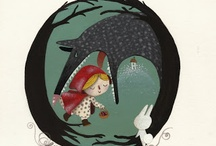 hey there little red riding hood / by Colette Katsikas