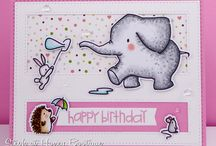 My Mama Elephant Cards / My Mama Elephant cards
