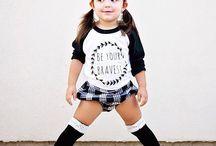 kid/teen fashion / by Ale