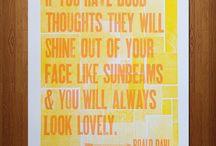Good thoughts / by Shawna Chylinski
