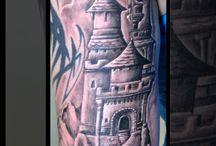 Tattoo braço fechado