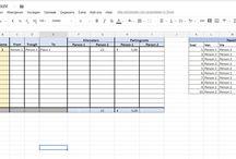 Excel templates and forms / De beste templates voor al je administratieve ongemakken.