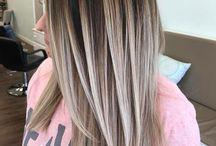 hiukset väri