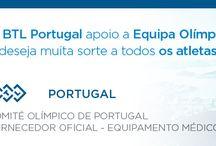BTL Fornecedor Oficial de Equipamento Medico - Comité Olimpico de Portugal