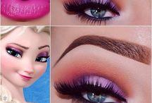 makeup og hår