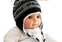 Bonnet peruvien bébé / Bonnet peruvien bébé en laine d'alpaga.