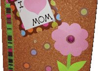 Mother's day ideas cork board
