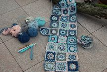 Meine Häkeldecke 2015, Grannysquareblanket, Granny Square Decke / Granny Square Decke, Granny Blanket granny deken