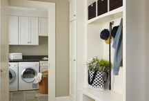 LAUNDRY..PANTRY..MUDROOMS