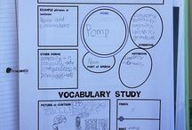 Classroom - Vocab Ideas / Ideas for vocabulary studies / by Michelle Bennett