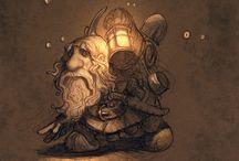 Justin Gerard illustration