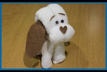 Muñecos con toallas