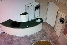 De ronde keuken | Het proces van de bouw / De ronde keuken in verschillende fases