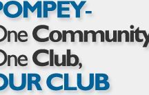 Pompey Till I Die! / Portsmouth Football Club - the team I have followed all my life.