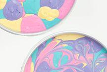 Rainbow Unicorn cakes and treats