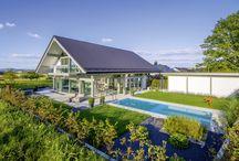 HUF Haus ART 4 / Familie Härtlein hat mit HUF HAUS ihr Traumhaus gebaut! Alles wurde nach den individuellen Wünschen der Bauherren geplant und umgesetzt. Das Ergebnis kann sich sehen lassen!