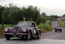 Alfa Romeo 6C 2500 SS / Series production of coupés, roadsters and 2-seat convertibles   |   year: 1939-1951   |   Number Built: 75 (1939-1943) and 383 (1947-1951) overall   |   Techincal specifications: in-line 6-cylinder, 2443 cc, 110hp, 165/170 km/h
