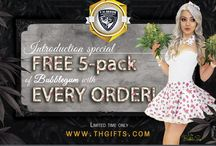 Special Promos / At T.H.Seeds & T.H.Gifts we always have a special promotions just for you! Stayed tuned for more FREE give away deals!