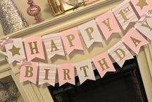 Nadia's first birthday