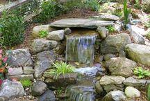 Backyard fountain/waterfall