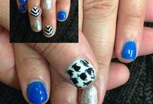 Blue nails / #bluenails #nails
