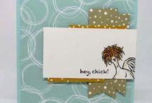 Card - SU hey chick