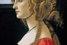 Simonetta Vespucci / Simonetta was Botticelli's muse in real life. He was hopelessly in love with her, despite the fact she was a married woman!