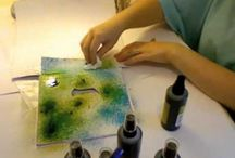 CRAFTS - Pigment Sprays / Color Spray applications/techniques